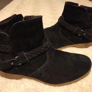 Teva Delavina Suede Ankle Boot